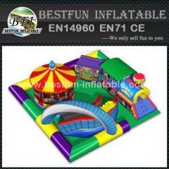 Giant inflatable amusement park