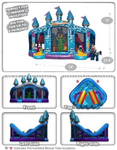 Joy Planet Fun Centre Inflatable Bounce Castle