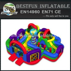 Inflatable Wacky World Bouncer