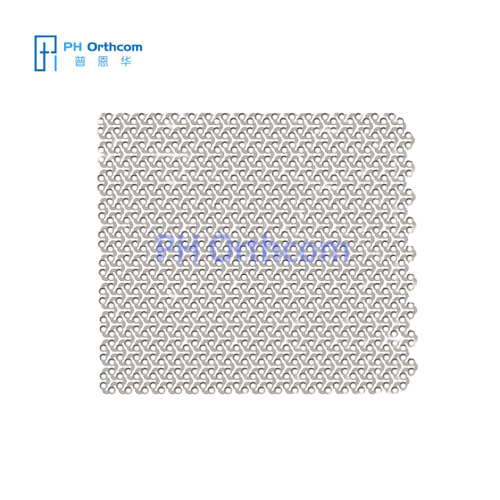 0.6mm Titanium Mesh for Neurosurgery 3D Pattern Size: 100x100/150x150/200x200