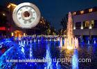 Blue Symmetrical Underwater Fountain Lights LED For Outdoor