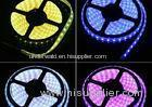 Joinable Warm White RGB LED Strip Lights 5 Meter 12V For Outdoor