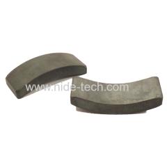 statore del motore tipo di arco materiale blocco di ferrite magnetica