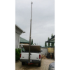 6m lockable pneumatic telescopic CCTV masts