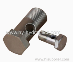 Metric bolt hydraulic hose fitting 710M