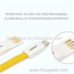 Flat Magnetic 8Pin USB Data Charger Cable