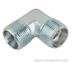 90 degree elbow BSP male 60 degree seat/ BSP male O-ring