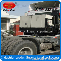 side-mount generator set for refrigerated container