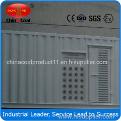 generator set with refrigerated container plug socket