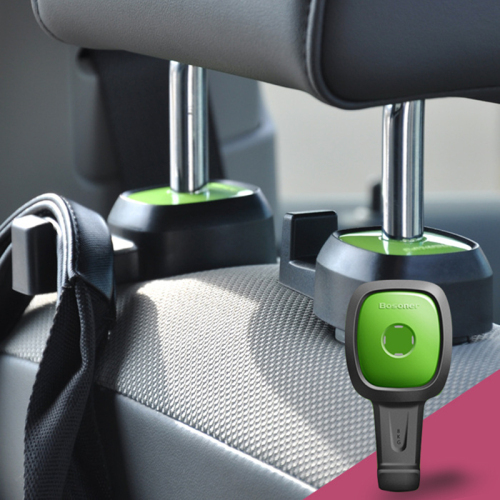 360 degree rotate Car hook for hanging different bags