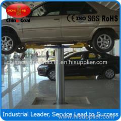 Hydraulic Single Post Underground Car Lift with Pneumatic Locks