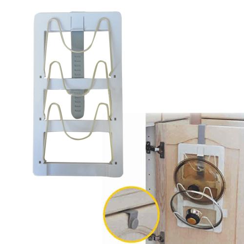 Over Cabinet Door Lid Cover Holder Rack
