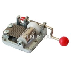 Crank Operated Mechanical Music Box Kit