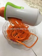 Spiral Slicer Vegetable chopper Detachable 3-Blade