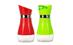 Rotate oiler condiment bottle