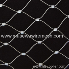 stainless steel rope mesh in park