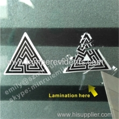 Water Proof Vinyl Eggshell Stickers