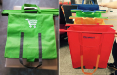 Shipping Car special built-in four piece non-woven Trolley Bags