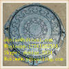 ductile manhole cover cast sewer cover 180 opening with rubber sealed hatch cover solid