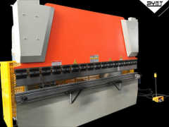Hydraulic bending and notching machine