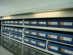 Sistema di scaffalature per scaffale bin