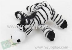 Zebra Animinal figura del cane peluche giocattolo gioco