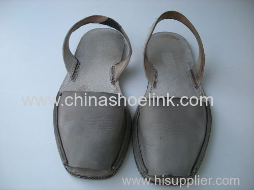 Grey Avarca lady sandal