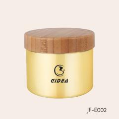 200ml Body Cream jar with bamboo cap