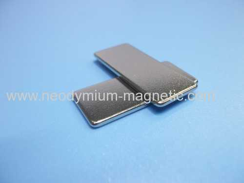 N52 Permanent rare earth magnet with black epoxy coating