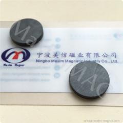 Disc round ferrite magnets