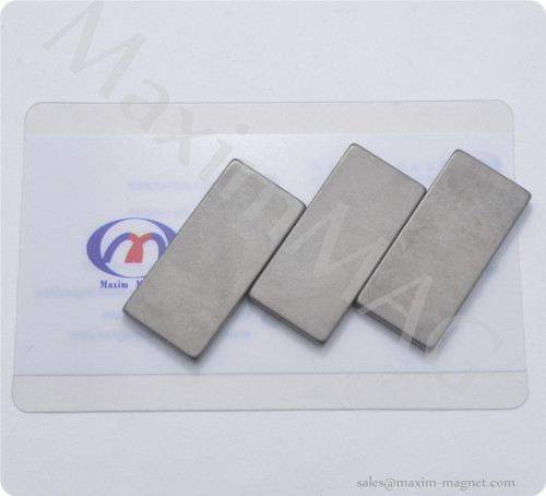 Block neodymium magnets bar with phosphate coating