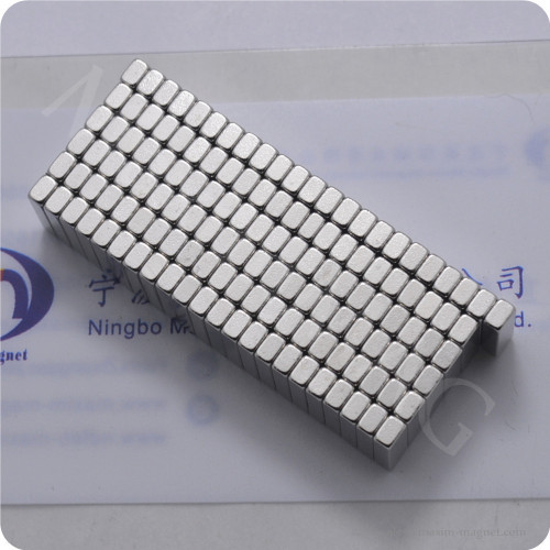 Small Neodymium square block magnets