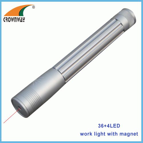 650nm laser flashlight 2AA ultra violet laser torch twist switch 5mW red laser hand torch