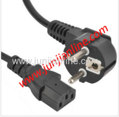 VDE power cord extension power cord