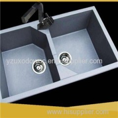 Artificial White Quartz Kitchen Sink