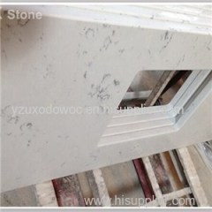 White Quartz Bathroom Vanity Top