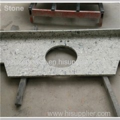 Polished Veining Color Quartz Stone Bathroom Tops