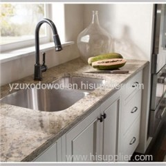 Prefabricated Man Made Quartz Kitchen Artificial Stone Countertop