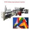 Hot selling PC PP hollow sheet machine Polycarbonate PP hollow sheet extrusion machine