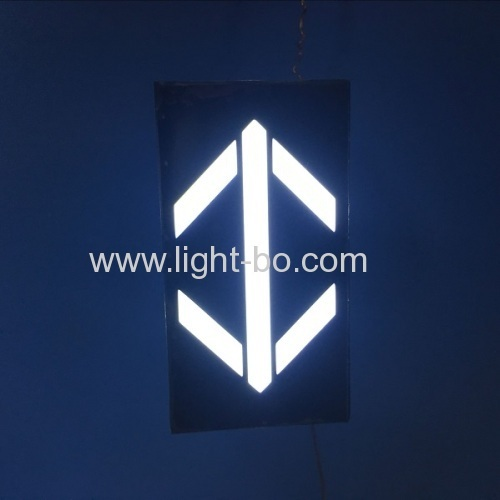 Ultra white 1.8  Arrow LED Display for elevator direction indicator size 30*56(mm)