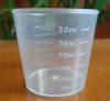 Plastic measuring cup mold
