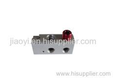 Precision machining bathroom aluminum connector