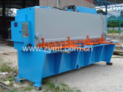 guillotine shearing machine cnc shearing machine sheet metal guillotine shearing machine