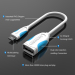 Vention High Speed USB 2.0 Micro USB OTG Adapter Cable