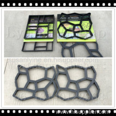 DIy pavement brick mold
