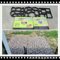 plastic path maker mould DIY pavement mould