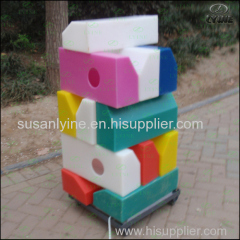 Alibaba china latest plastic lighting kerbstone for parking lot