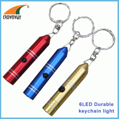 LED keychain light 15 000MCD super bright 3*LR44 incl mini pocket lamp indoor and outdoor emergency lamp