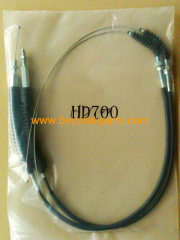 Kato excavator HD700 HD820 HD1250-7 throttle cable accelerator cable