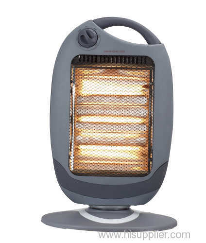 Halogen heaters with remote